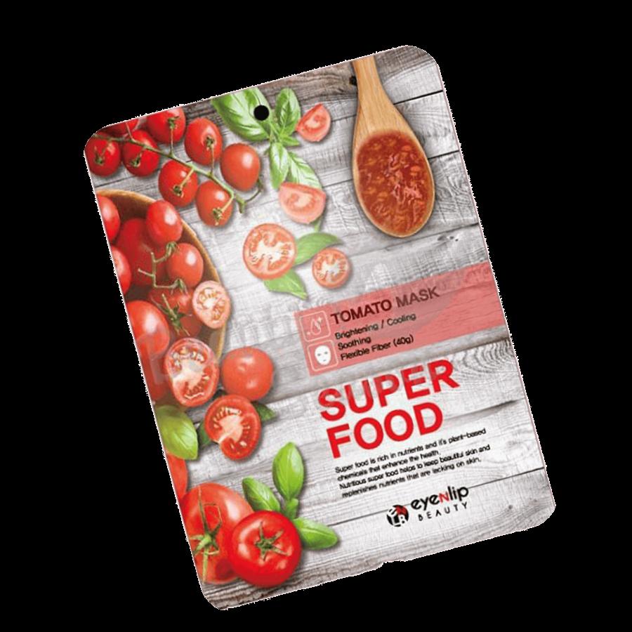 Тканевая маска с экстрактом томата Eyenlip Super Food Mask - Tomato