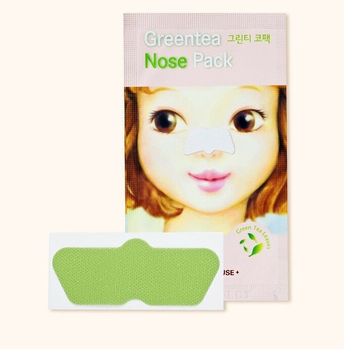 Патч очищающий для носа Etude House Greentea Nose Pack Ad, 0.65 мл