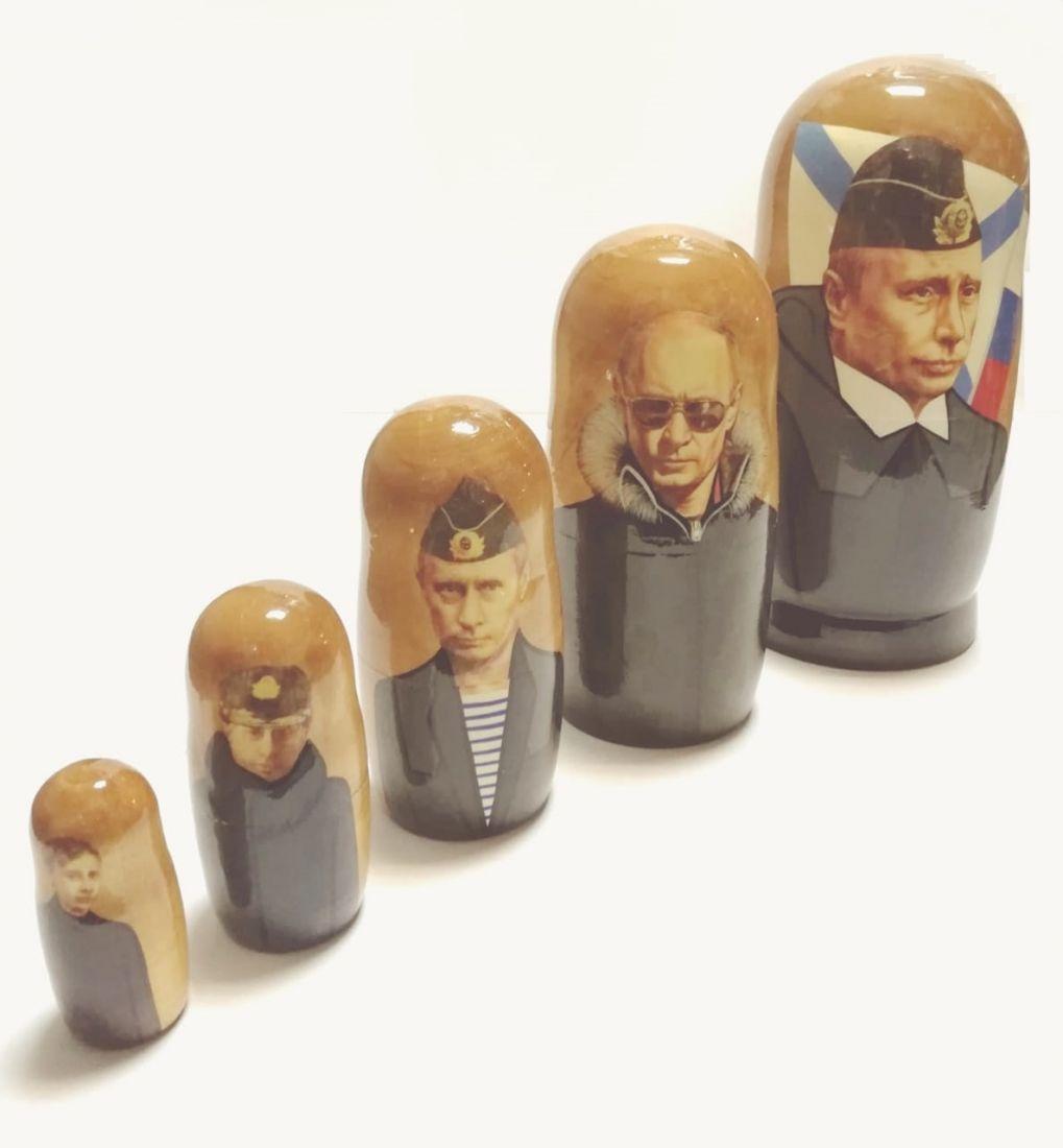 Матрешка Путин