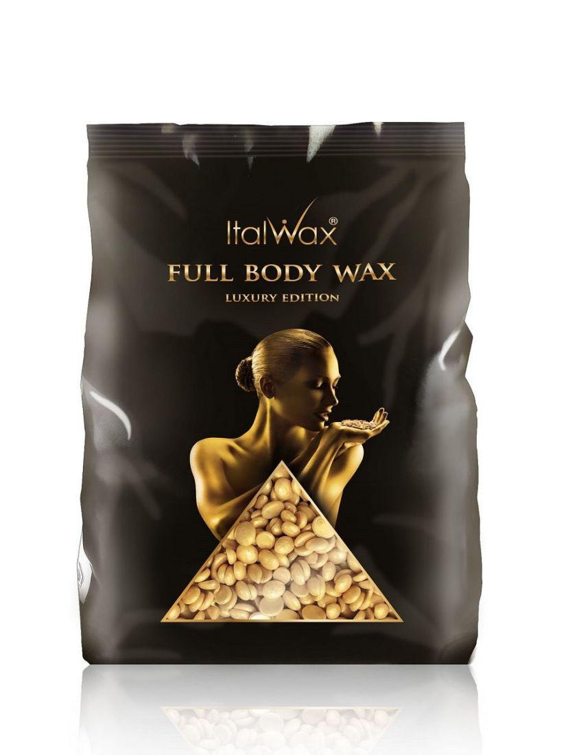 Воск горячий (пленочный) Full Body wax гранулы 1кг