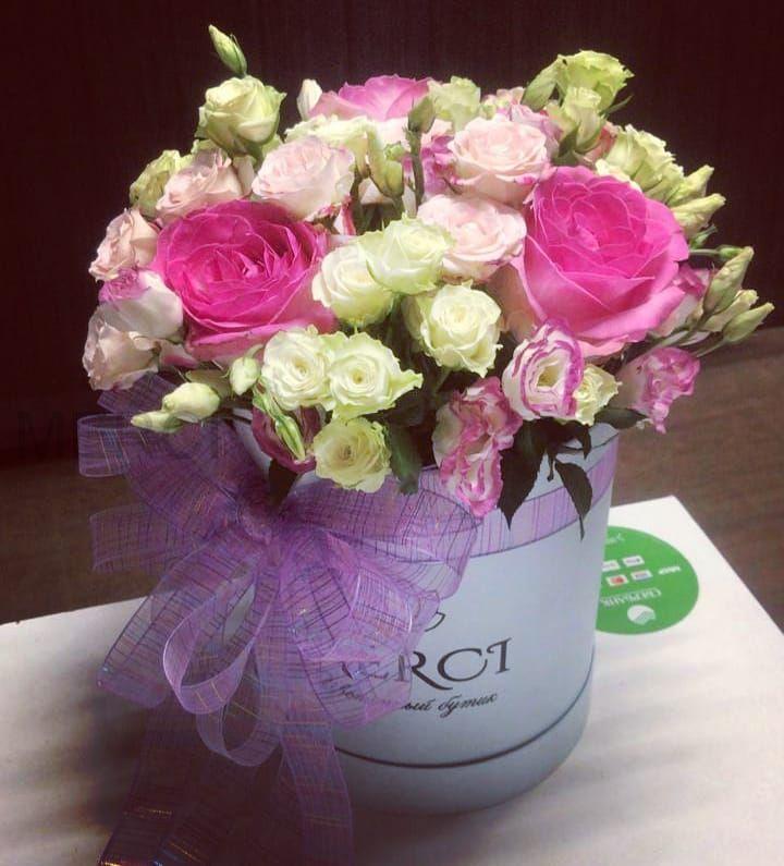 Коробка с цветами N5