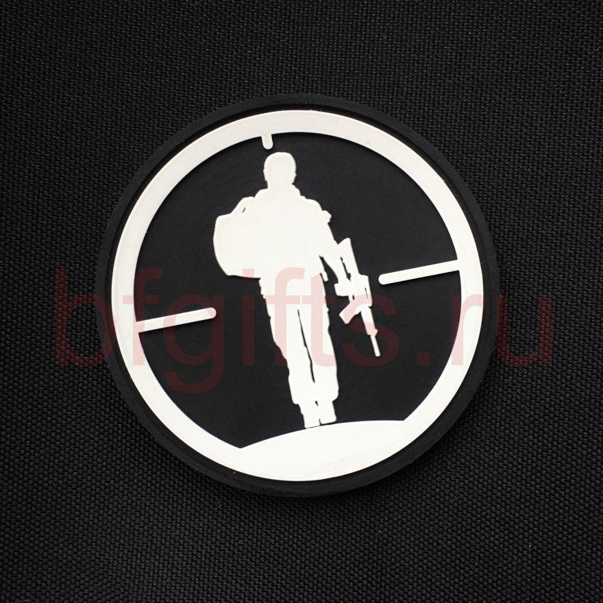 Патч Солдат ПВХ