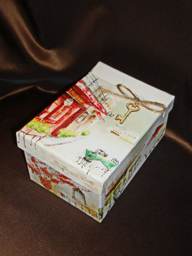 Изысканный стиль (станд) -  подарочный набор с кофе,  чаем и конфетами