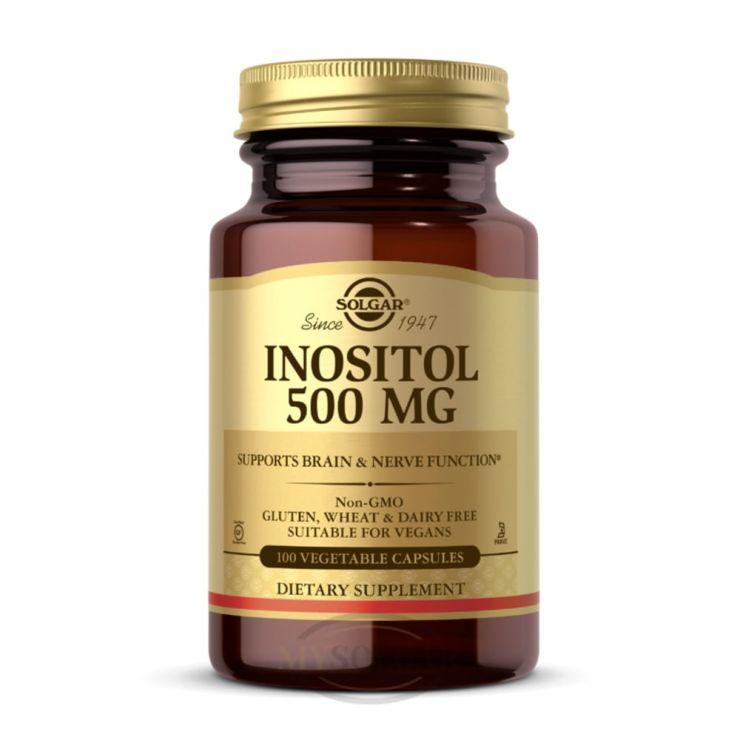 Солгар Инозитол 500 мг, 100 капс