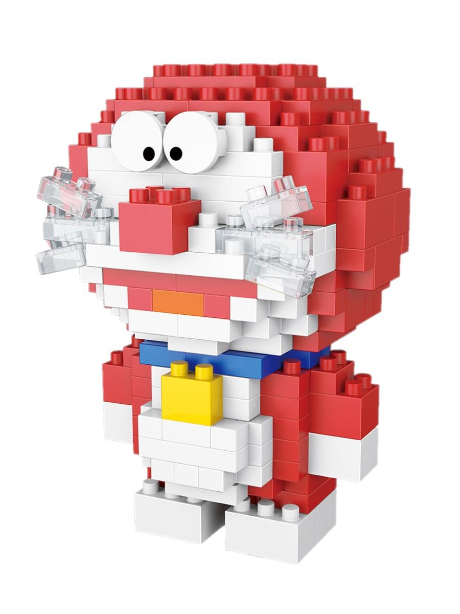 Конструктор Wisehawk & LNO Дораэмон красный 199 деталей NO. 2520 Doraemon series