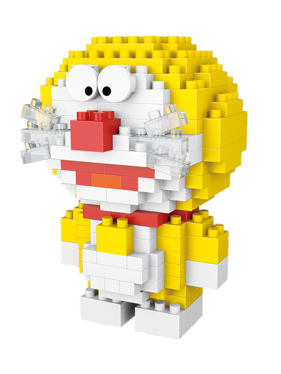 Конструктор Wisehawk & LNO Дораэмон желтый 199 деталей NO. 2519 Doraemon series