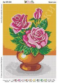 Фея Вышивки ВП-404 Букет Роз схема для вышивки бисером купить оптом в магазине Золотая Игла
