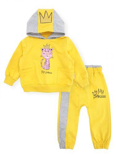 Костюм для девочек 1-4 года Bonito желтый