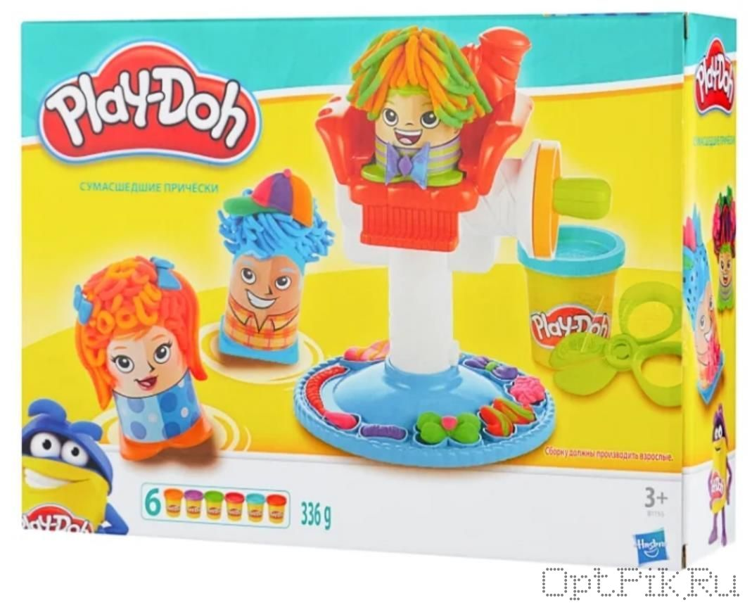 Игровой набор пластилина Play-Doh Сумасшедшие прически
