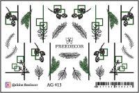 FREEDECOR Аэрография Слайдер дизайн Арт.AG-413