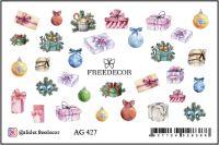 FREEDECOR Аэрография Слайдер дизайн Арт.AG-427