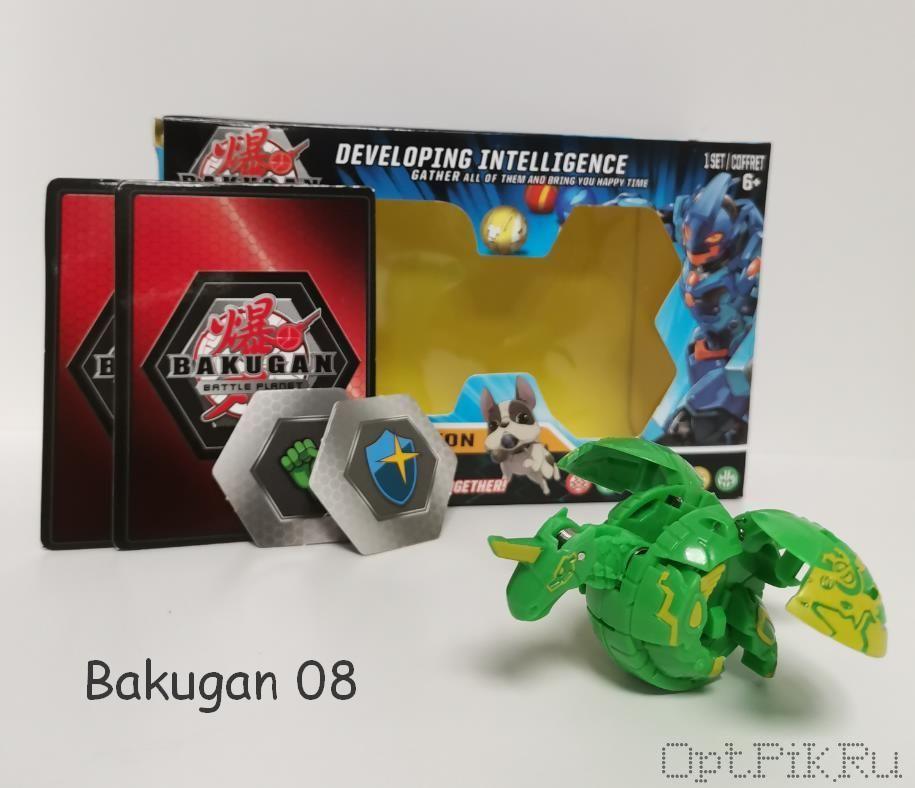 Бакуган Bakugan 08
