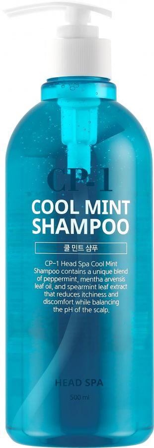 Шампунь для волос ОХЛАЖДАЮЩИЙ CP-1 HEAD SPA COOL MINT SHAMPOO, 500 мл