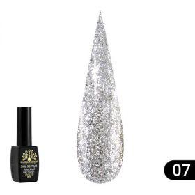 Гель лак Shine Spectrum (Алмазный), Global Fashion 8 мл 307