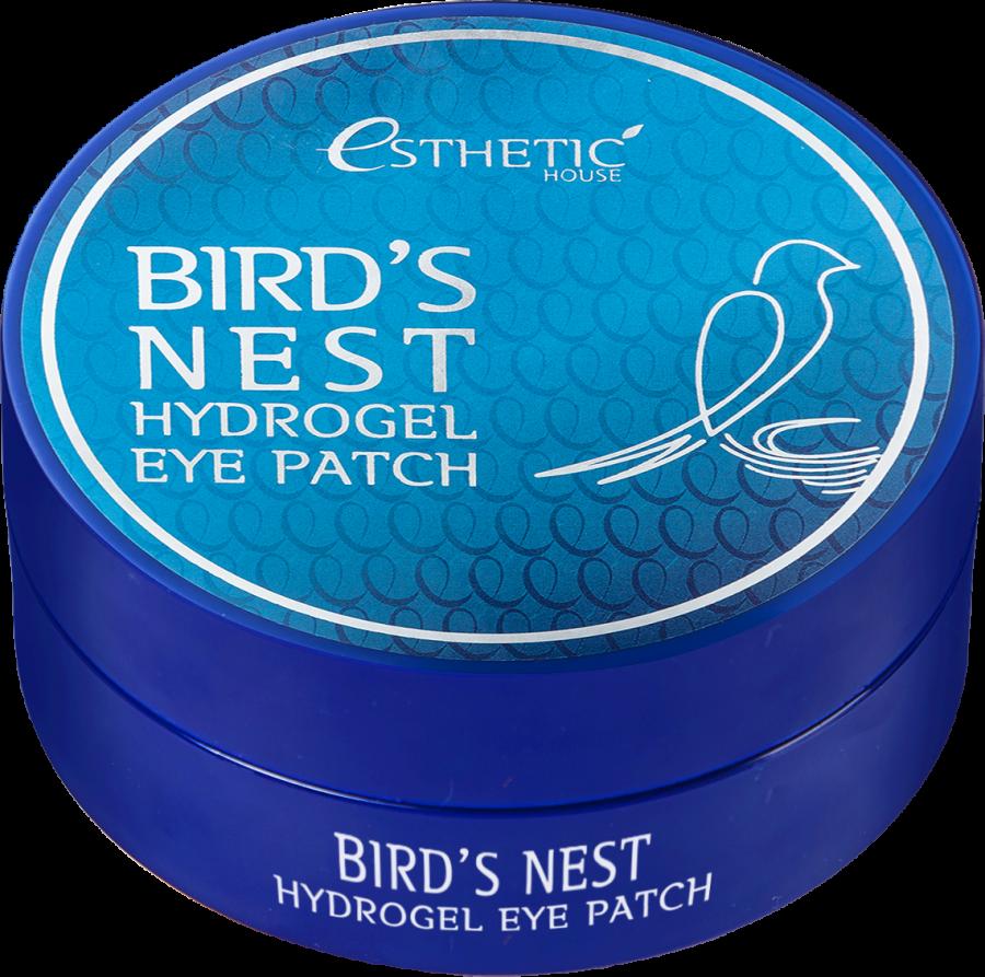Гидрогелевые патчи для глаз ЛАСТОЧКИНО ГНЕЗДО Bird's Nest Hydrogel EyePatch, 60 шт