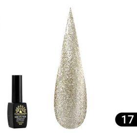 Гель лак Shine Spectrum (Алмазный), Global Fashion 8 мл 317