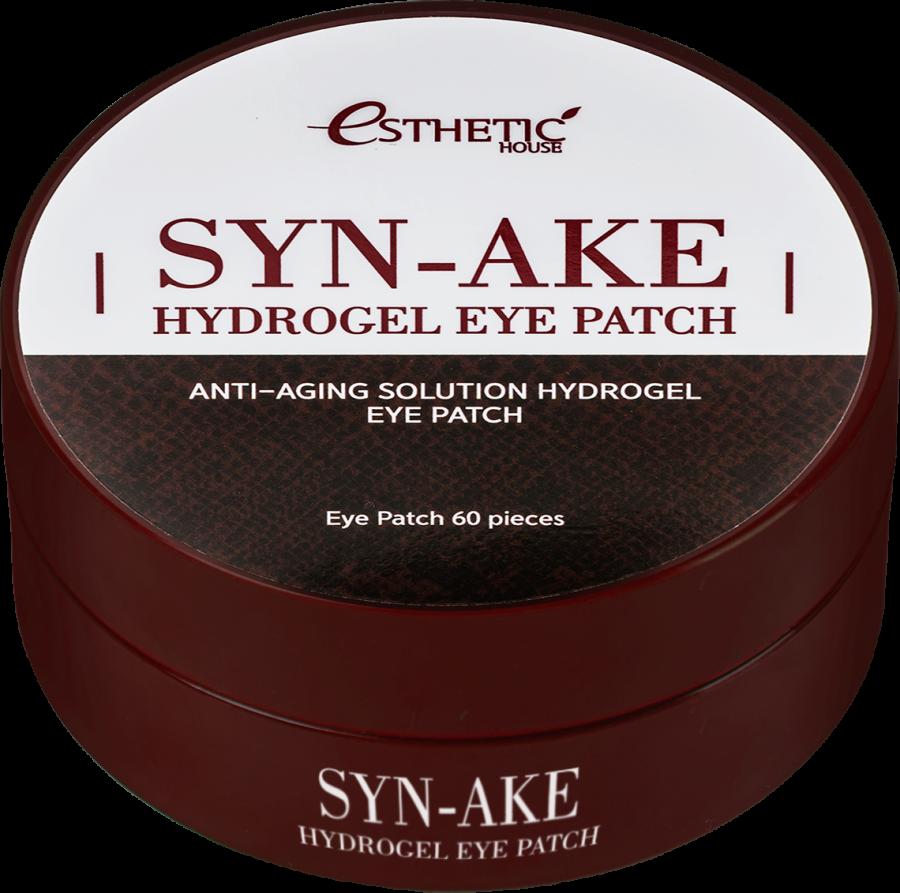 Гидрогелевые патчи для глаз ЗМЕИНЫЙ ПЕПТИД Syn-Ake Hydrogel Eye Patch, 60 шт
