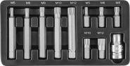 S29H4111S Набор вставок-бит 10 мм DR SPLINE с переходником, 11 предметов