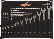 OMT16S Набор ключей гаечных комбинированных в сумке, 8-32 мм, 16 предметов