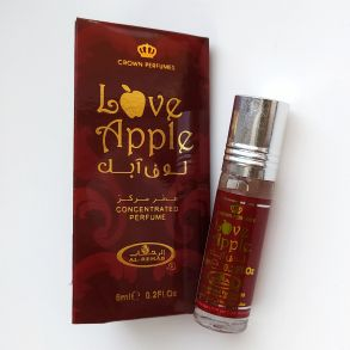 Арабские масляные духи Love Apple | Яблоко любви | 6 мл | Al-Rehab | Женские