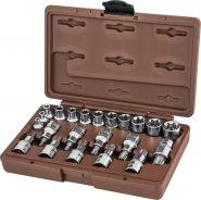 953222 Набор головок торцевых, внешний TORX®, и насадок с вставками-битами TORX®, 22 предмета