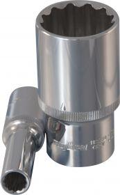 "112208 Головка торцевая глубокая 12-гранная 1/2""DR, 8 мм"