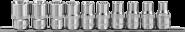 """912610 Набор головок торцевых 1/2""""DR на держателе, внешний TORX®, E8-E24, 10 предметов"""