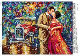 Dana DANA-3342 Ночь Поцелуй схема для вышивки бисером купить в магазине Золотая Игла