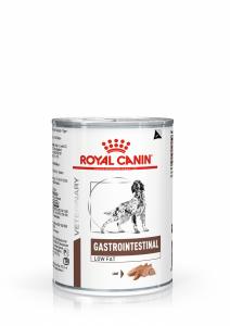 Консервы ROYAL CANIN GASTRO INTESTINAL LOW FAT диета для собак при при нарушении пищеварения низкокалорийная 410гр