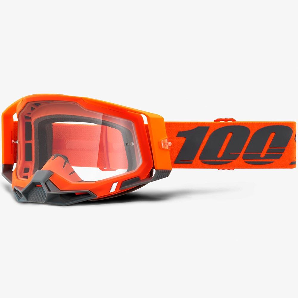 100% Racecraft 2 Kerv Clear Lens, очки