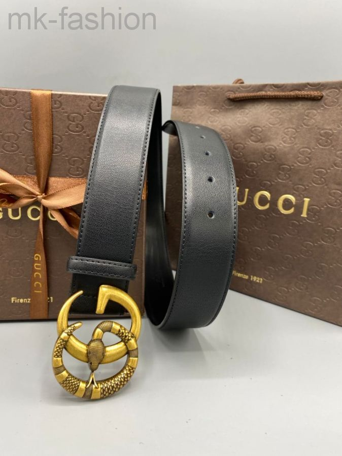 Ремень Gucci змея