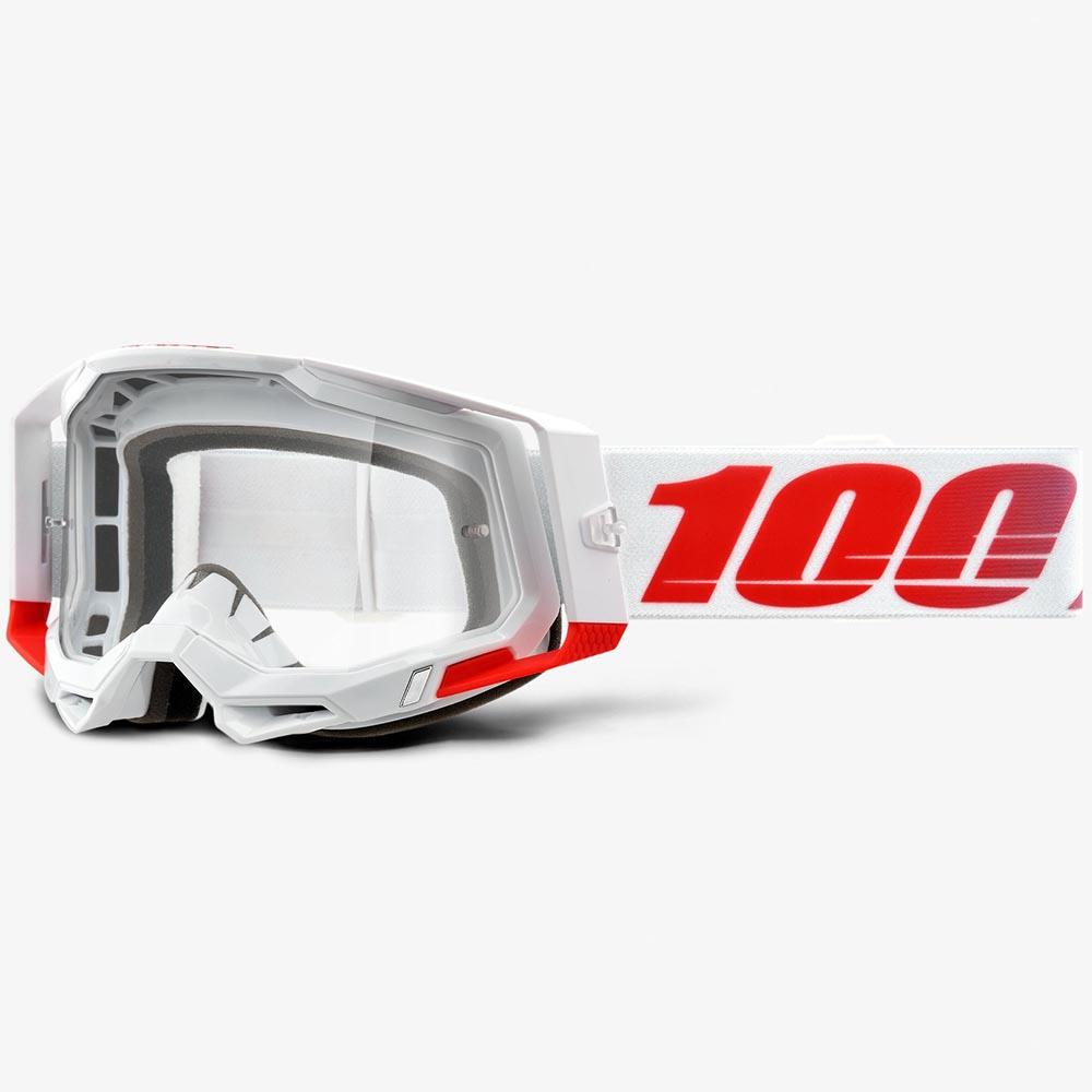 100% Racecraft 2 St-Kith Clear Lens, очки