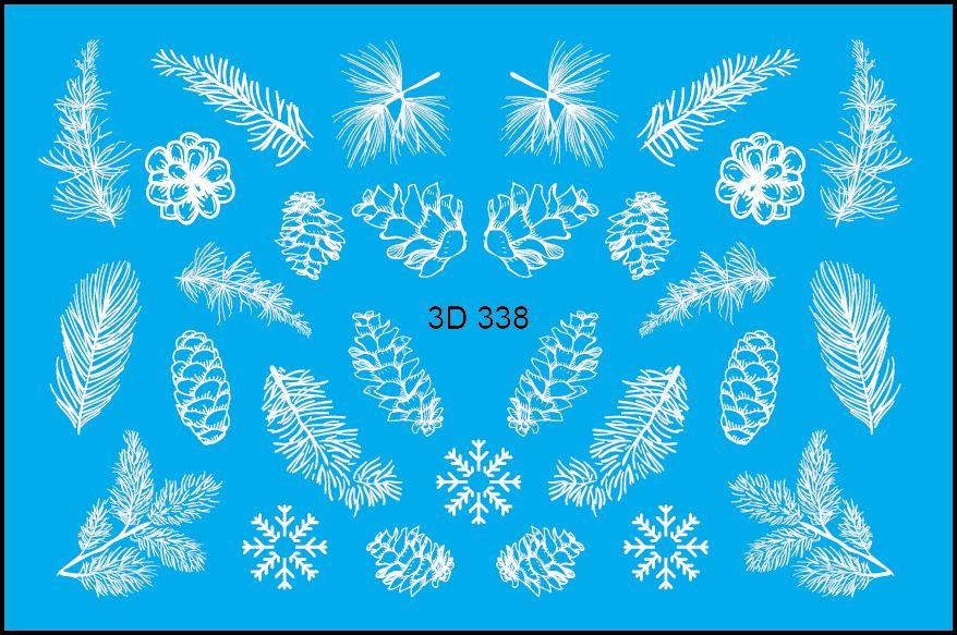 FREEDECOR 3D слайдер дизайн Арт. 3D-338 Новый год