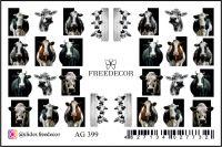 FREEDECOR Аэрография Слайдер дизайн Арт.AG-399 Животные, птицы