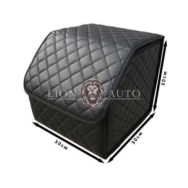 Органайзер в авто маленький (закрепка с черной строчкой)