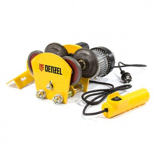 Каретка электрическая для тельфера T-1000 Denzel