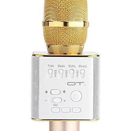 Орбита OT-ERM05 Золото микрофон (Bluetooth, динамики, USB)