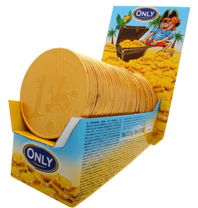 Молочный шоколад only BIG GOLD 21.5 гр
