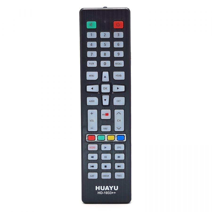 HUAYU HD-1033++ Пульт ТВ универсальный (DVB-T2/SAT)