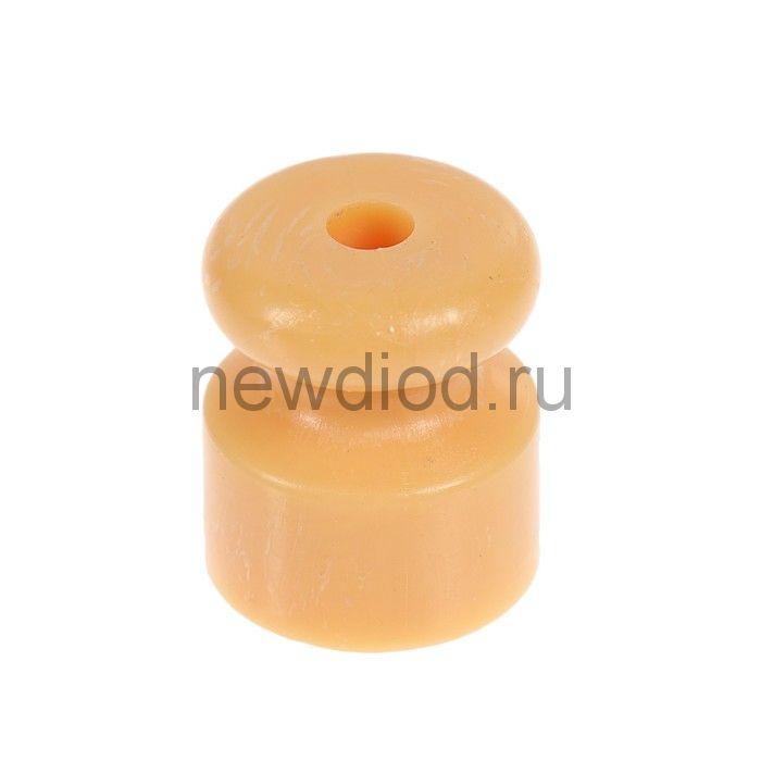 Изолятор пластмассовый, цвет сосна