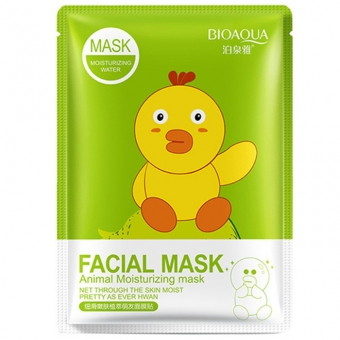 Тканевая маска Bioaqua Facial Mask Animal-Птичка