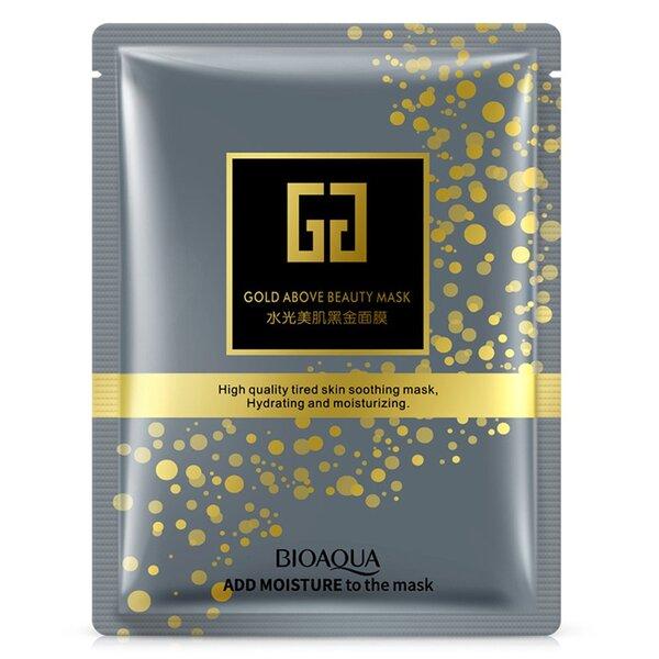 Тканевая маска с коллоидным золотом Bioaqua Gold above Beauty Mask