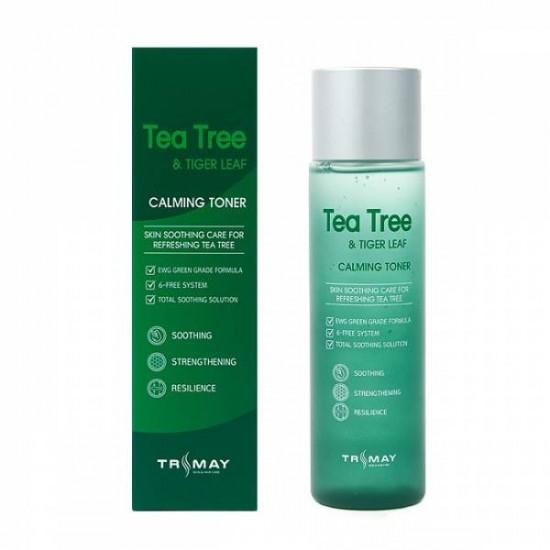 Тонер TRIMAY Tea Tree & Tiger Leaf Calming Toner (200 мл)NEW
