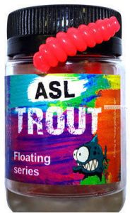 Мягкая приманка ASL Личинка 30 мм / упаковка 10 шт / цвет: 104