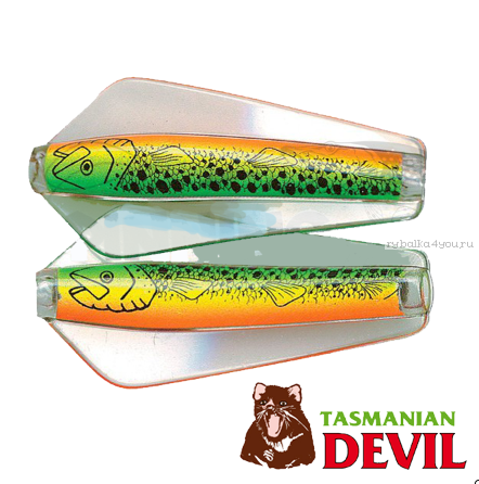 Блесна колебалка Tasmanian Devil Tasman 52 мм / 14 гр / цвет: 06