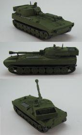 Финская САУ 122  PsH 74, танк