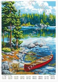 Dana DANA-3495 В Путешествии на Лодке схема для вышивки бисером купить в магазине Золотая Игла