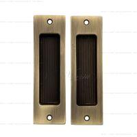 Venezia U166 ручка для раздвижных дверей. бронза матовая