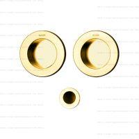 Olivari Dante D134 ручка для раздвижных дверей. золото матовое
