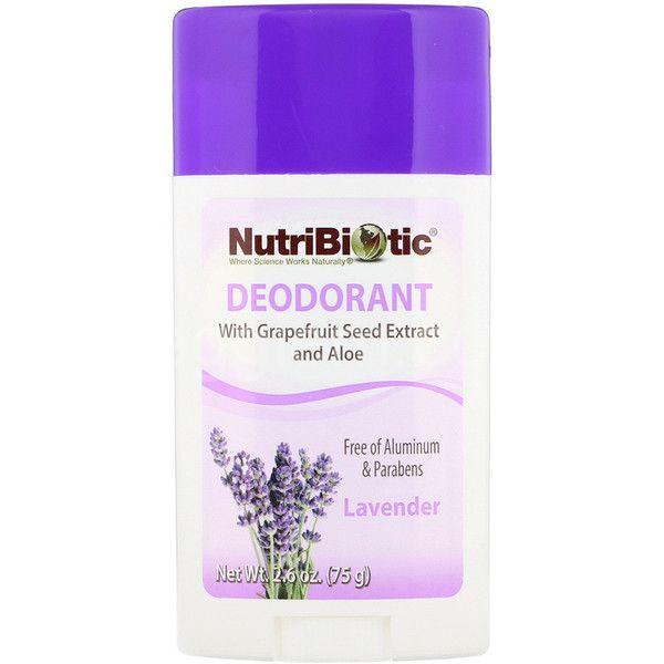 Дезодорант Лаванда Nutribiotic,75 грамм